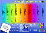 Magic Words Deskmat (A4) 200 Words